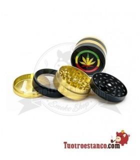Grinder de metal 4 piezas Jamaican 50 mm