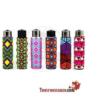 Clipper + Funda Silicona Geometric 4