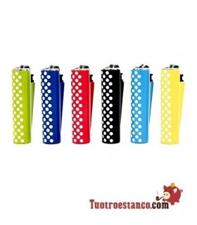 Encendedor Clipper + funda Dots 3