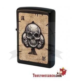 Zippo Skulls Poker card