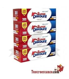 Tubos Discount 300 Filtro largo (1x4)