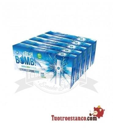Tubos Fresh Bomb! Menta Fuerte Artic - 5 cajitas de 100 unidades
