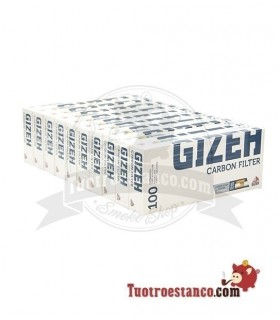 Tubos Gizeh Carbono 100 u(1x100)