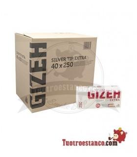 Tubos Gizeh filtro largo 250 u(1x40)
