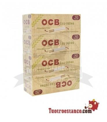 Tubos OCB orgánicos 4 cajitas de 250 unidades