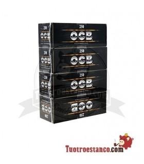 Tubos OCB 4 cajitas de 250 unidades