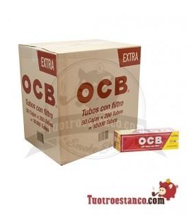 Tubos OCB de filtro largo 50 cajitas de 200 Unidades (Cajón)