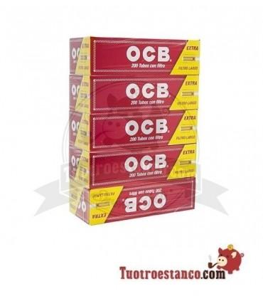Tubos OCB de filtro largo 5 cajitas de 200 unidades