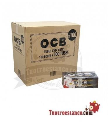 Tubos OCB 100 cajitas de 100 unidades (Cajón)