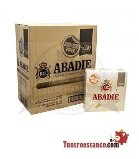 Tubos Abadie 10 cajitas de 1000 unidades (Cajón)
