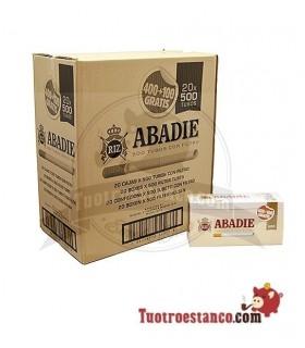 Tubos Abadie 20 cajitas de 500 unidades (Cajón)