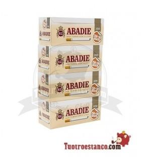 Tubos Abadie 300 - 4 cajitas de 300 unidades