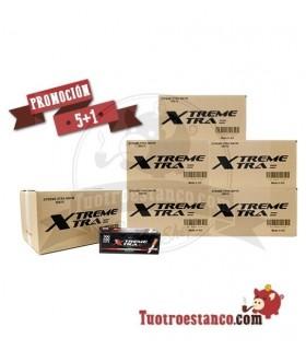 5 Cajones + 1 Gratis de Tubos X-Treme 90 cajitas de 350 tubos