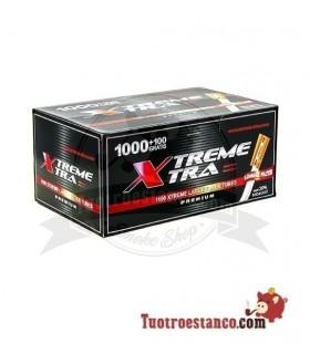 Tubos X-TRA filtro largo 1 caja de 1100 unidades