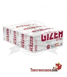 Tubos Gizeh filtro largo 250 u(1x4)