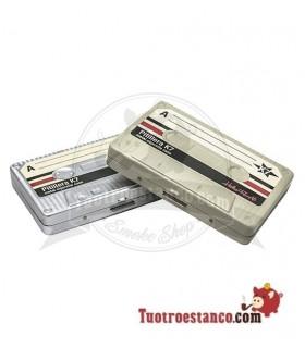 Pitillera metálica Cassette