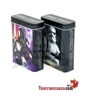 Pitillera metálica Star Wars 20 cig