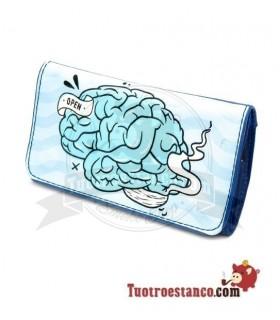 Porta tabaco Roll Master Cerebro Azul