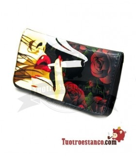 Porta tabaco Roll Master Rosas