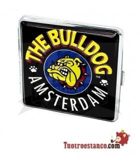 Pitillera metálica Bulldog Amsterdam 18 cig