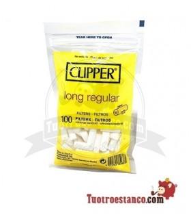 Filtros Clipper Long Regular 8mm 100 filtros