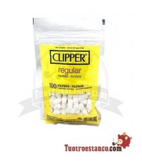 Filtros Clipper Regular 8mm 100 filtros