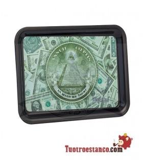 Bandeja Plástico Dollar 17 x 12,5 cm