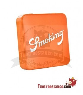Pitillera Smoking Naranja 20 cigarrillos