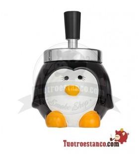 Cenicero Push Pingüino