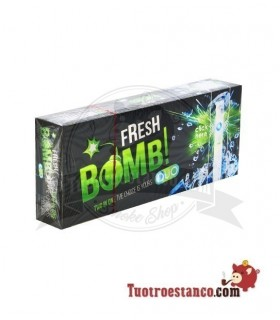 Tubos Fresh Bomb! Menta 1 cajita de 100 tubos