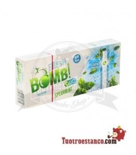 Tubos Fresh Bomb! Hierbabuena 1 caja de 100 tubos