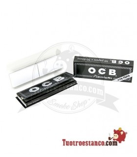 Papel Ocb Premium 1 1/4 + Tips