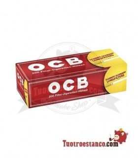 Tubos OCB largos 1 cajita de 200 tubos