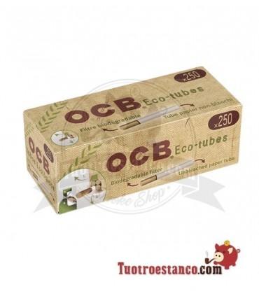 Tubos OCB orgánicos 1 cajita de 250 tubos