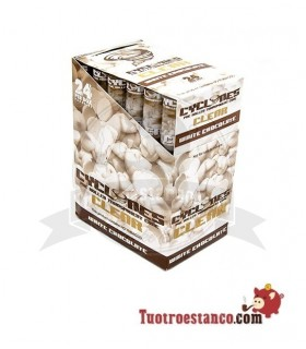Papel Cono Cyclone sabor Chocolate Blanco 24 Conos