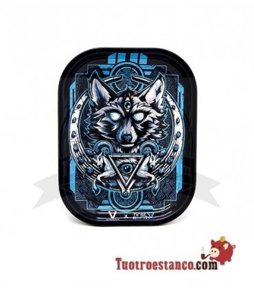 Bandeja Metálica lobo Azul