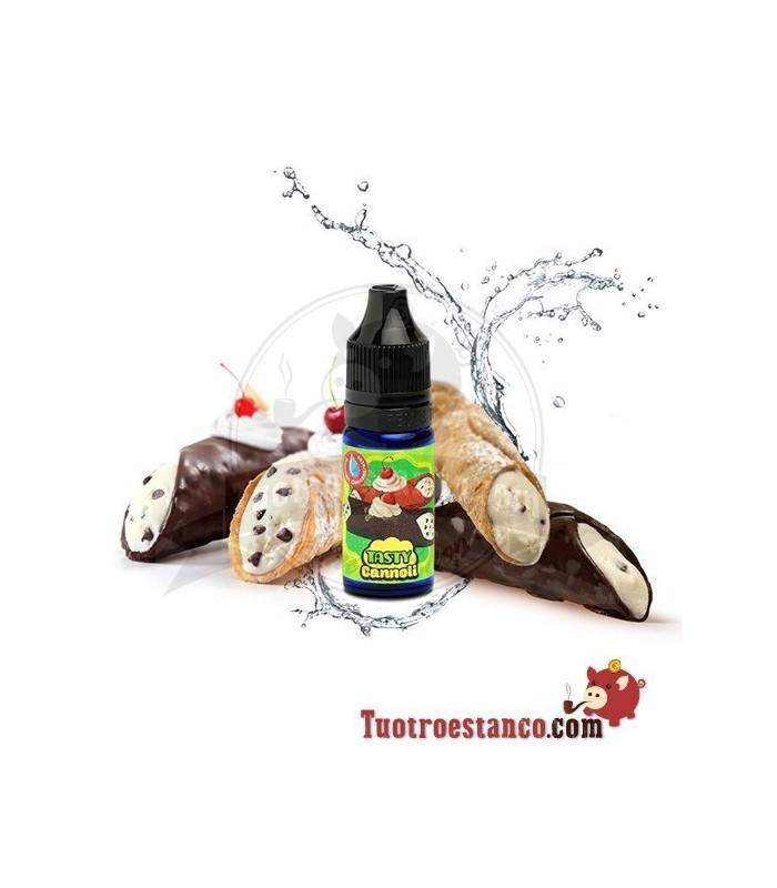 Aroma BigMouth Cannoli 10 ml Rollo de crema