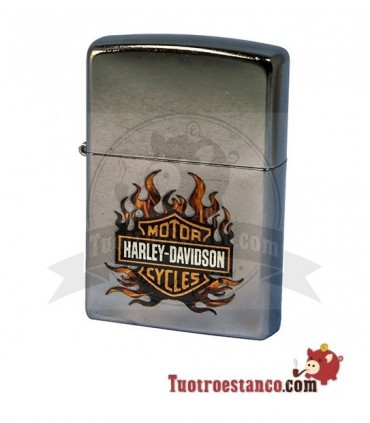 Zippo Harley Davidson Fire
