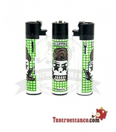 Clipper Scary Skulls