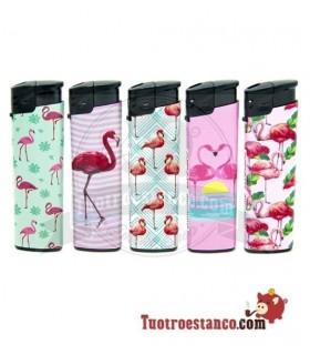 Encendedor electrónico Buzz Flamingo