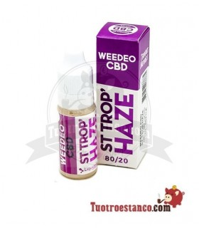 Líquido Liquideo CBD Weeded ST. Trop Haze Kush 10 ml 100mg