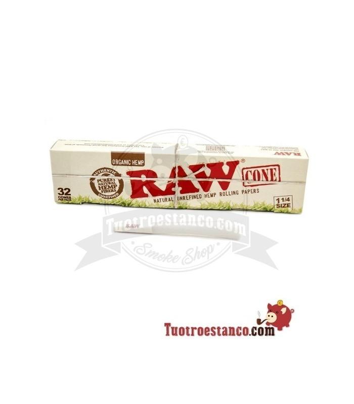 Conos Raw 32u 1 1/4 Orgánicos