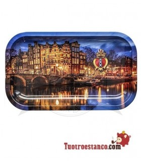 Bandeja Metálica Canal Amsterdam