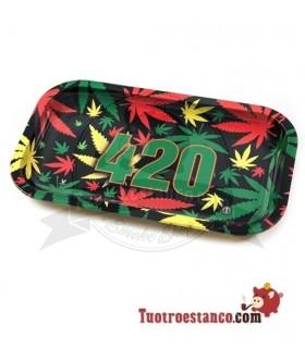 Bandeja Metálica 420 Rasta