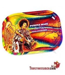 Bandeja metálica Jimi Hendrix Guitar