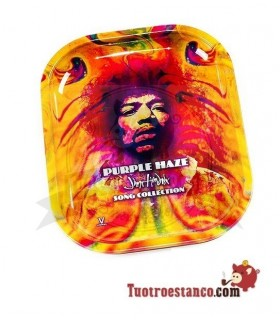 Bandeja metálica Jimi Hendrix