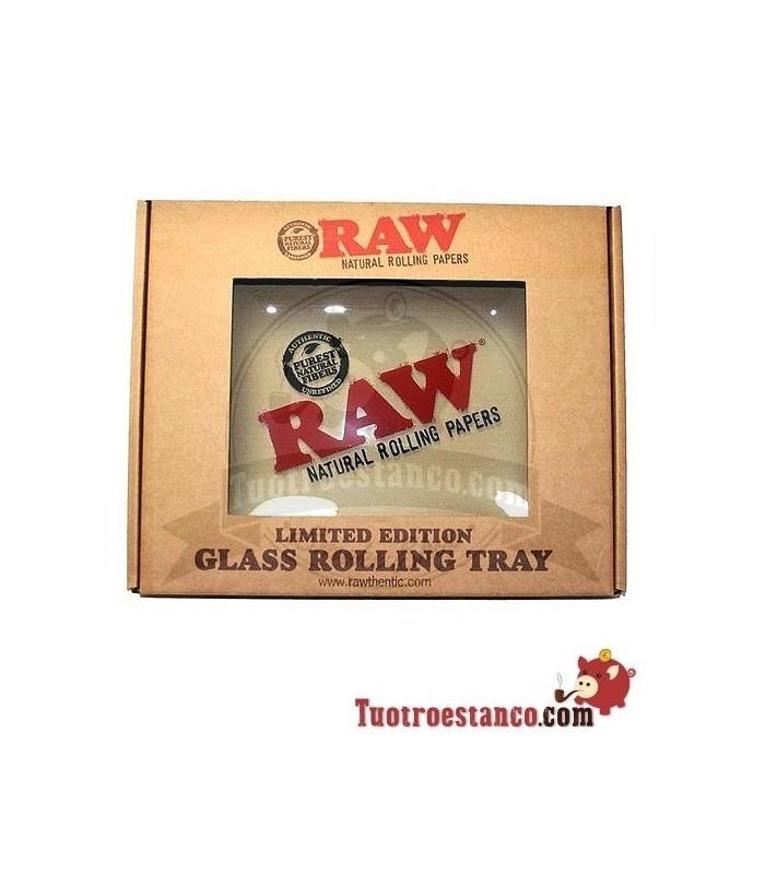 Bandeja de cristal RAW 36 x 28 cm Edición limitada