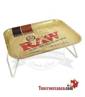 Bandeja RAW metálica XXL 50x39cm con soporte
