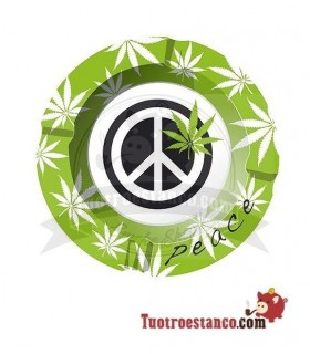 Cenicero Metal Peace 1