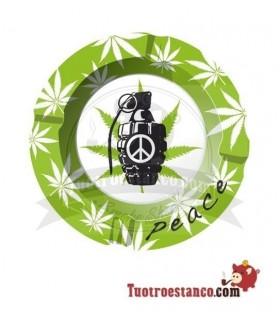 Cenicero Metal Peace 3